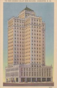 The New Kanawha Valley Bank Building, Charleston, West Virginia, 1930-40s