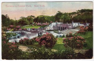 Terraces in Central Park, New York