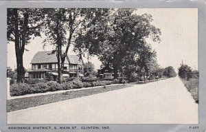 Indiana Clinton South Main Street Residence District