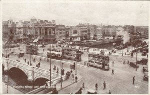 O'Connell Bridge & Eden Quay , Dublin, Ireland , 1900-10s