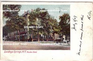 Worden Hotel, Saratoga Springs NY,