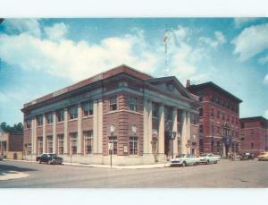 Pre-1980 BANK BUILDING Lowell Massachusetts MA E4718