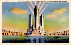 IL - Chicago. 1933 World's Fair-Century of Progress.  Federal Building