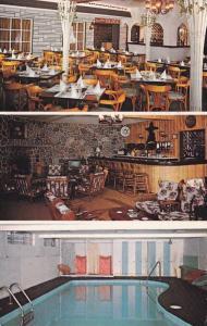 3-Views, B-M Motel Hotel, Ville de St. Gabriel, Cte Berthier, Quebec, Canada,...