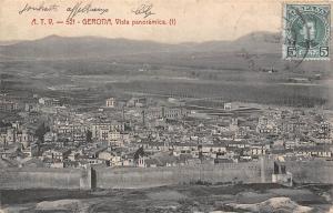 Spain Espana - Gerona, Vista panoramica