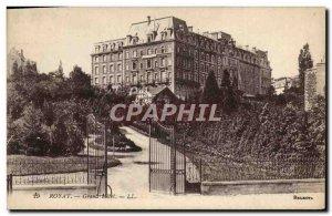 Old Postcard Royat Hotel