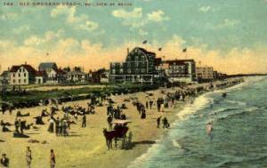 Beach Old Orchard Beach ME 1910