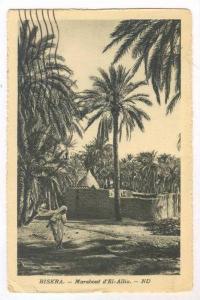 Marabout d'El-Allia, Biskra, Algeria, Africa, PU-1921