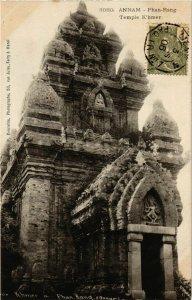 CPA AK INDOCHINA Annam Temple-K'hmer VIETNAM (956479)