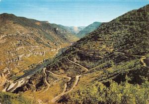France Les Lacets de la Malene a L'Aven Armand et la Vallee du Tarn Panorama