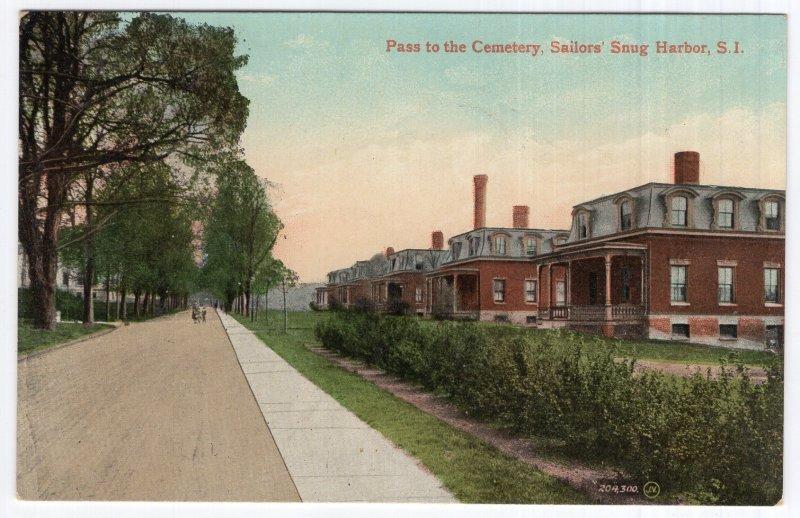 Sailors' Snug Harbor, S.I., Pass to the Cemetery