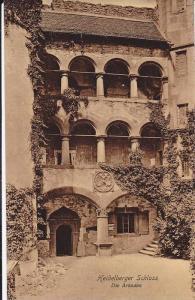 Die Arkaden, Heidelberger Schloss, Baden-Wurttemberg, Germany, 1900-1910s