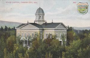 CARSON CITY , Nevada , 00-10s ; State Capitol, Seal