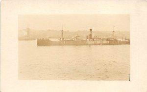 AS Cludea SS Argo Ship Unused