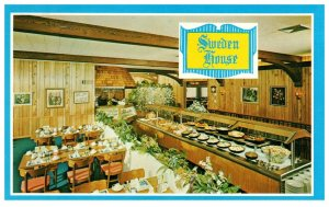 Sweden House Smorgasbord Restaurant Florida PC1406