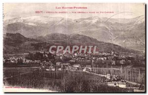 Old Postcard Argeles Gazost General view taken from Ste Castere