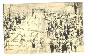 Toboggan Party, Canadian Sport Series, Canada, PU-1907
