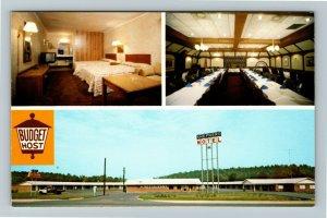 Calhoun GA- Georgia, Shepherd Motel & Restaurant, Vintage Chrome Postcard