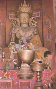 View of Lord Buddha, Kathmandu, 40-60s
