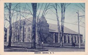 The Armory at Medina, Orleans County NY, New York - pm 1954