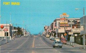 Autos Phillips 66 Fort Bragg California Mendocino Postcard Nor Cal 10525