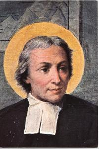 Saint J.B. de La Salle, from the painting The School of Saint Sulpice, used