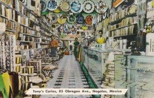 Mexico Nogales Tony's Curios Interior Obregon Avenuesk2370a