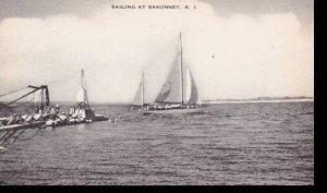 Rhode Island Sakonnet Sailing Artvue