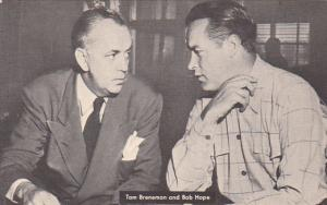 Tom Breneman and Bob Hope 1945