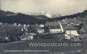 Grunbach Austria, Österreich Sommerfrische Grunbach Sommerfrische