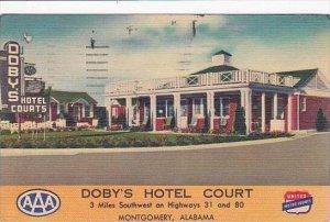 Alabama Montgomery Dobys Hotel Court