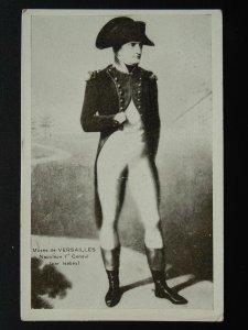 Portrait NAPOLEON BONAPARTE Musee de Versailles - Old Postcard