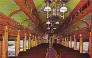 Strasburg Railroad Route 741 Passenger Coach #3556 Interior