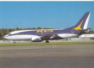 KLD, Boeing 737-317, unused Postcard