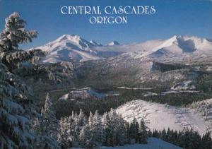 Oregon Three Sisters Cascade Range