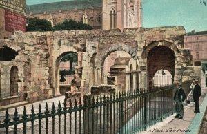 Vintage Postcard 1910's Nimes la Pole d'Auguste France Aqua Photo