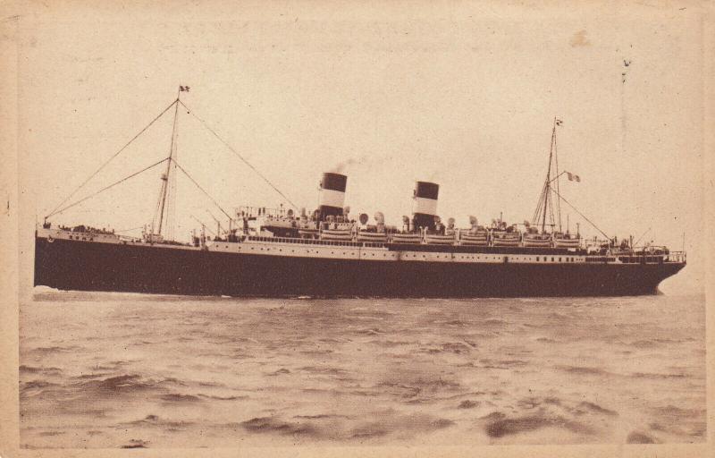 S/S ROMA , 1910-20s; Mediterranean - North America Express