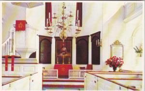 Massachusetts Boston Interior Old North Church Salem Street