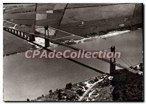 Postcard Modern Tancarville bridge