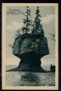 The Rocks,Hopewell Cape Near Moncton,New Brunswick,Canada
