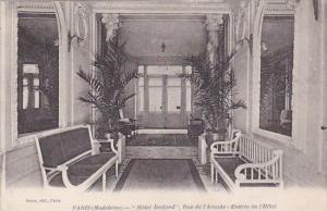 France Paris Madeleine Hotel Bedford Rue de l'Arcade Entree de l'Hotel 1922