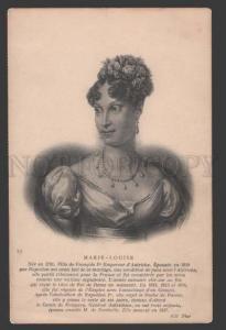 115080 MARIE-LOUISE second wife of Napoleon Bonaparte Vintage