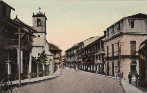 Panama Colon Typical Street Scene sk4484
