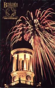 250th Anniversary Bethlehem PA Pennsylvania Fireworks Central Moravian Church