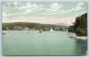 Postcard ME Seal Harbor View 1910 G25