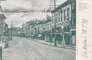 New York Schenectady Lower State Street 1905