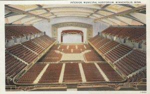 MINNEAPOLIS , Minn., 1910s ; Interior , Municipal Auditorium