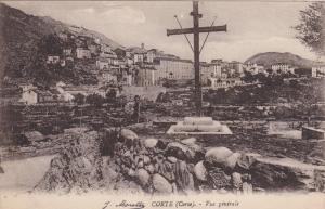CORTE (Corse) , Vue generale  , France , 00-10s