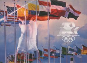 1984 Los Angeles Summer Olympics - Flags