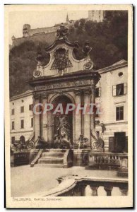 Postcard Old Salzburg Kapitel Schwemme